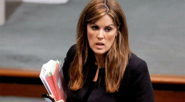 The book claims Abbott allegedly slapped his chief of staff, Peta Credlin, on the bum.