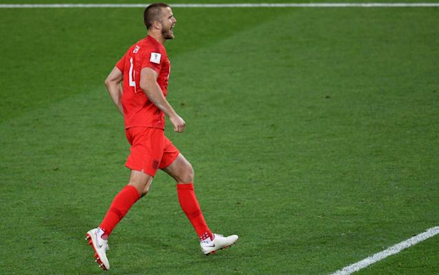 Eric Dier converted the match-winning penalty against Colombia while wearingTRUsox - AFP