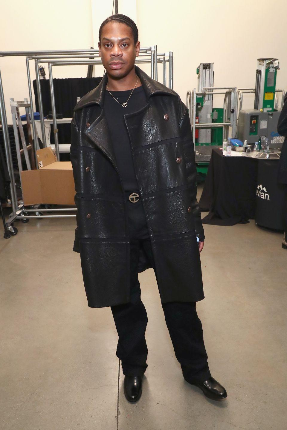 """<p><strong>Brand</strong>: Telfar</p><p>His popular purse designs with the signature logo have been dubbed the """"<a href=""""https://www.businessoffashion.com/articles/intelligence/telfar-new-york-designers-shopping-bag"""" rel=""""nofollow noopener"""" target=""""_blank"""" data-ylk=""""slk:Bushwick Birkin"""" class=""""link rapid-noclick-resp"""">Bushwick Birkin</a>."""" Telfar's designs are unisex and he's championed gender-neutral clothing. </p>"""