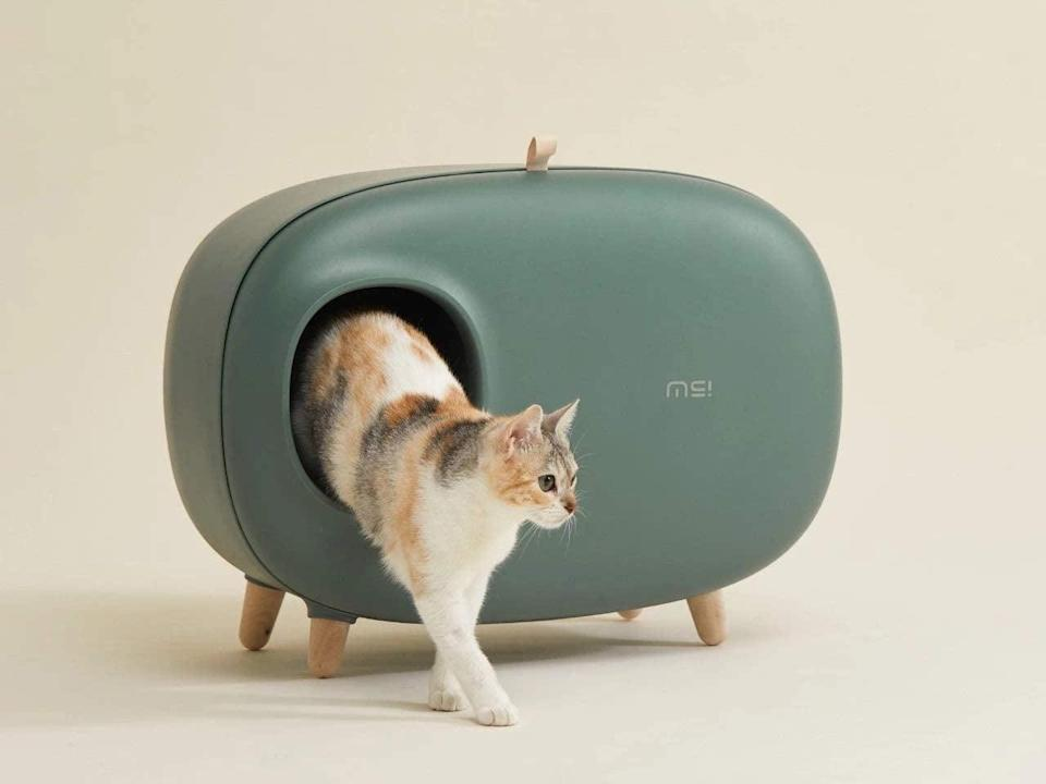 <p>Give you cats the chicest litter box on the block with the <span>MS Cat Litter Box</span> ($140).</p>