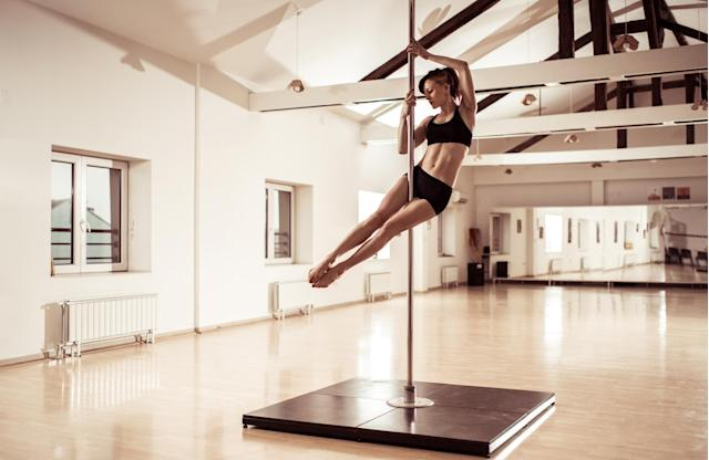 Pole dancing is a great form of fitness (Getty)
