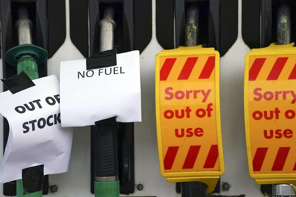 A Shell petrol station in Bracknell (Steve Parsons/PA) (PA Wire)