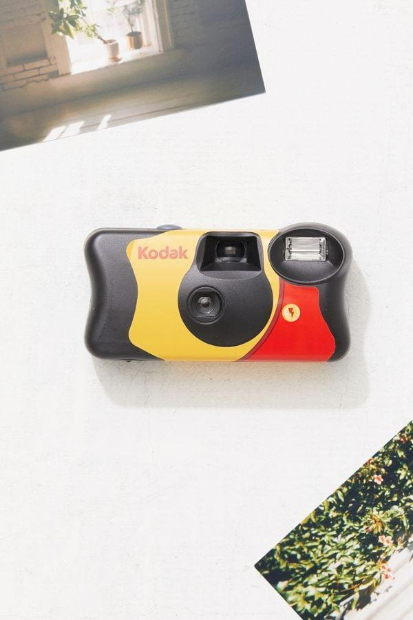 <p>This <span>Kodak FunSaver Disposable Camera</span> ($16) is an ode to the old school, pre-iPhone days of taking photos with a real camera. </p>