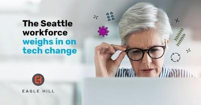 According to a new survey of Seattle workers by Eagle Hill Consulting, only 29 percent say that their company invests in the right technologies to support them.