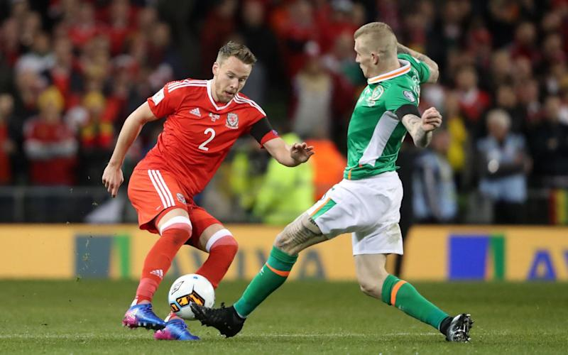 Chris Gunter and James McLean - Credit: Niall Carson/PA