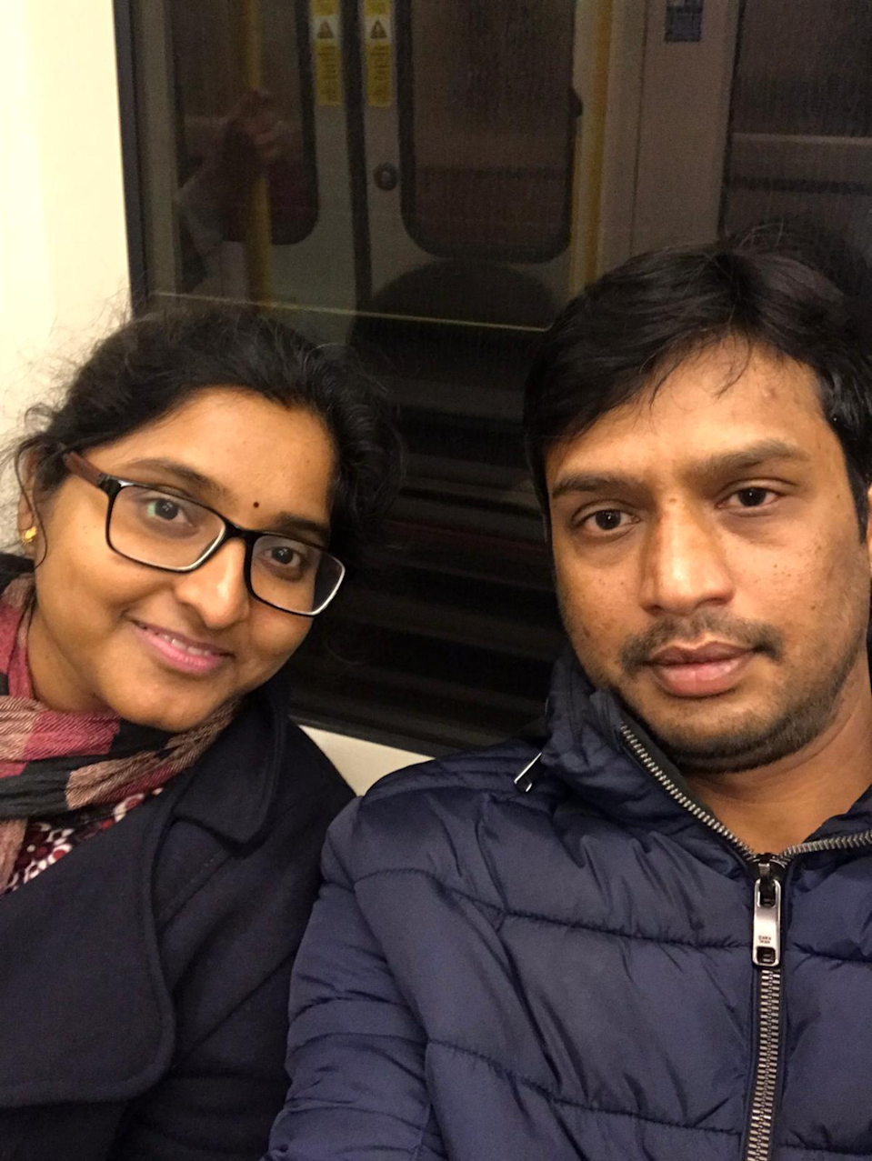 <p>Amarnath Pendyala (right) was refused indefinite leave to remain four and a half years ago under unlawful policy and his case remains unresolved</p> (Amar)