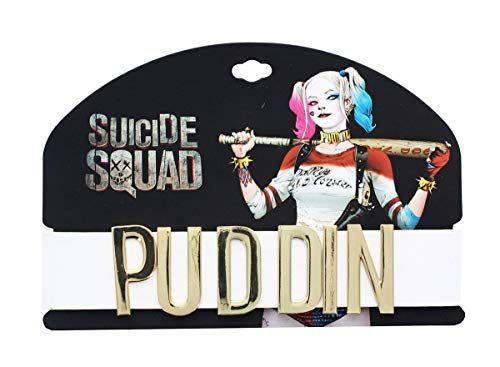 """<p><strong>Suicide Squad</strong></p><p>amazon.com</p><p><strong>$15.99</strong></p><p><a href=""""https://www.amazon.com/dp/B01LYI0AGP?tag=syn-yahoo-20&ascsubtag=%5Bartid%7C10050.g.29418972%5Bsrc%7Cyahoo-us"""" rel=""""nofollow noopener"""" target=""""_blank"""" data-ylk=""""slk:Shop Now"""" class=""""link rapid-noclick-resp"""">Shop Now</a></p><p><em>Suicide Squad</em> Harley Quinn went nowhere without her Puddin choker. Thanks to this affordable store-bought accessory, you won't have to either.</p>"""