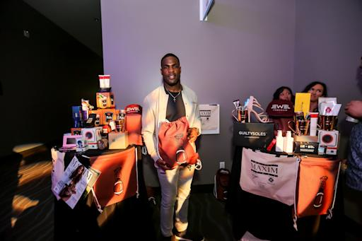 """GBK Productions creates """"Thank You Gift Bag"""" for Celebrity Guests and top sponsors for MAXIM Party at the smart financial centre at Sugarland, Presented by Thomas J Henry, produced by Karma international"""