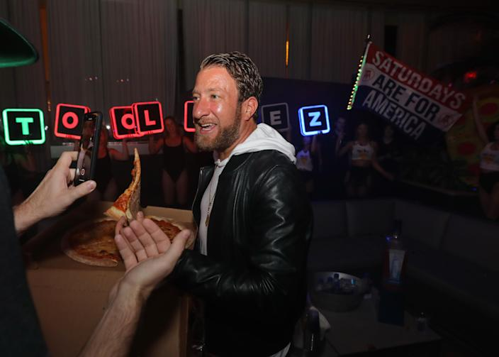 David Portnoy of Barstool Sports hosts The Pool After Dark at Harrah's Resort on 11 May 2019 in Atlantic City, New Jersey, US. Portnoy, who also reviews pizza restaurants, has become an online stock picker since the pandemic began. Photo: Tom Briglia/ Getty Images