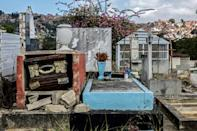 Graves throughout the main cemetery in the south of Caracas have been desecrated by looters