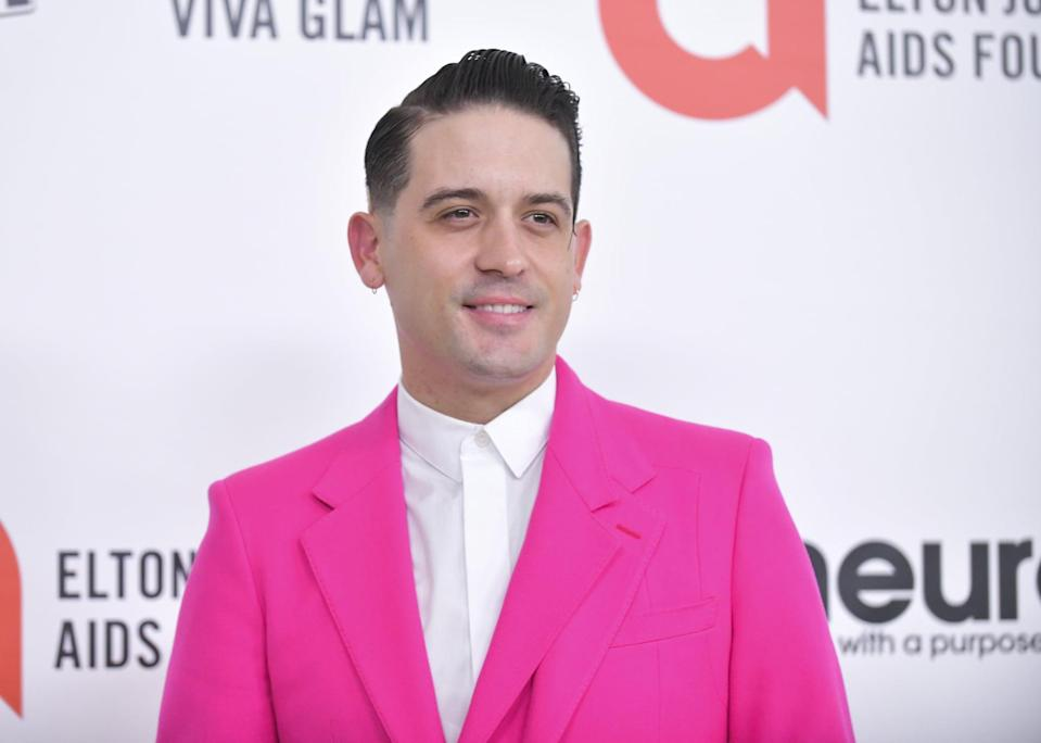 """<p>Ashley and G-Eazy were first linked in May 2020 after they were spotted kissing in LA. In August 2020, <a href=""""https://www.popsugar.com/celebrity/are-g-eazy-ashley-benson-engaged-47711037"""" class=""""link rapid-noclick-resp"""" rel=""""nofollow noopener"""" target=""""_blank"""" data-ylk=""""slk:the two sparked engagement rumors"""">the two sparked engagement rumors</a> when Ashley was shown wearing a diamond on her ring finger. However, their relationship eventually fizzled out. In February 2021, <strong>E! News</strong> <a href=""""http://www.eonline.com/news/1235913/ashley-benson-and-g-eazy-break-up-after-less-than-a-year-together"""" class=""""link rapid-noclick-resp"""" rel=""""nofollow noopener"""" target=""""_blank"""" data-ylk=""""slk:confirmed their split"""">confirmed their split</a> after Ashley unfollowed G-Eazy on Instagram.<br></p>"""