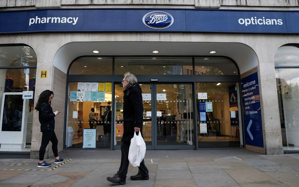 Boots pharmacy in London - Hollie Adams /Getty Images Europe