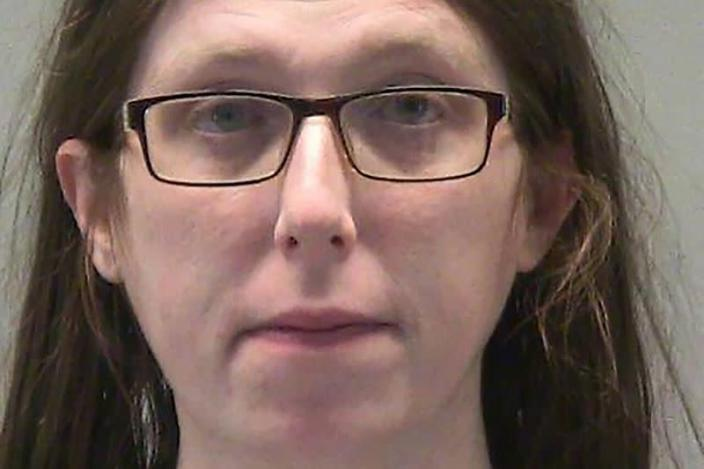 Jessica Marie Watkins poses for a booking photograph at the Montgomery County Jail in Dayton