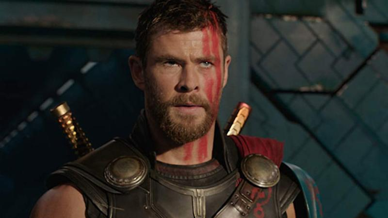 Chris Hemsworth in 'Thor: Ragnarok'. (Credit: Disney/Marvel)