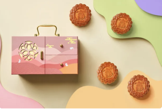 PHOTO: Klook. Box of 4 Assorted Baked Mooncakes