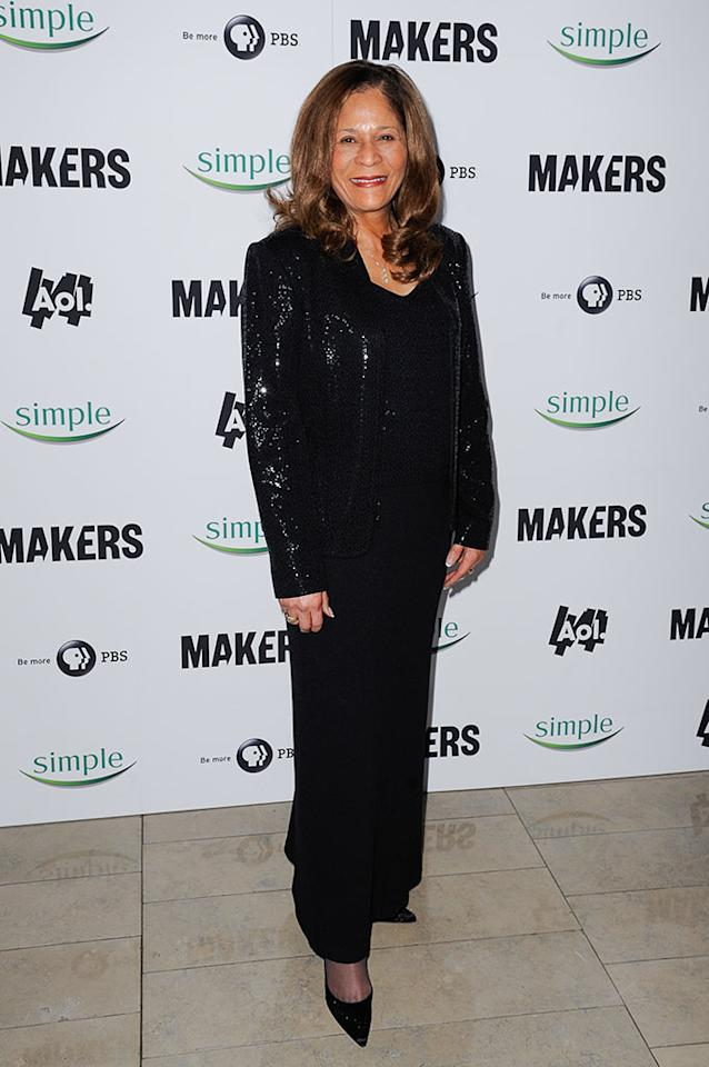 "Vivian Stringer arrives at ""MAKERS: Women Who Make America"" New York Premiere at Alice Tully Hall on February 6, 2013 in New York City."