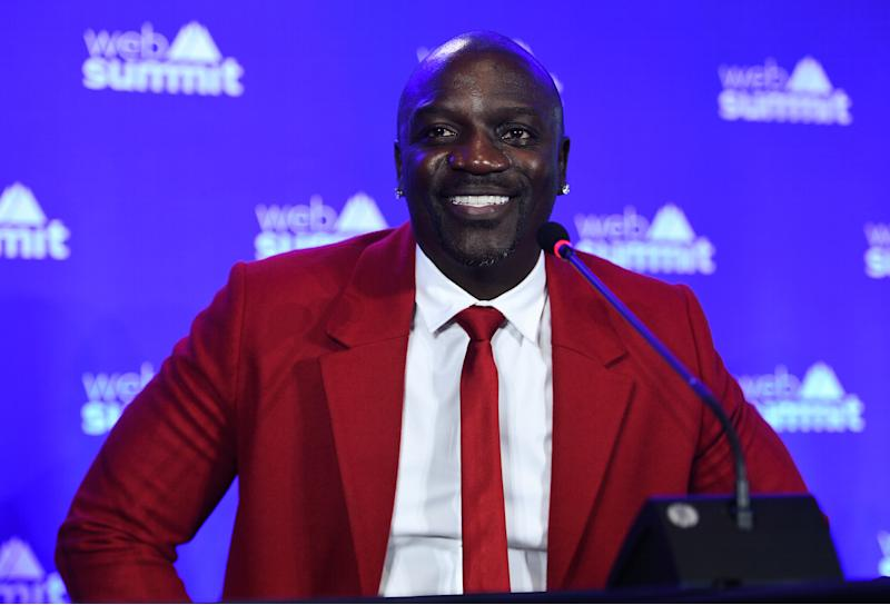 """Akon reveals that a 2024 presidential run """"might be possible."""" (Photo: Getty Images)"""