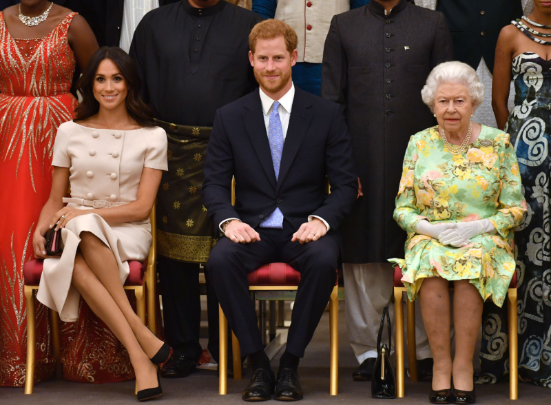 Meghan suffered a slight slip up earlier this week with how she crossed her legs
