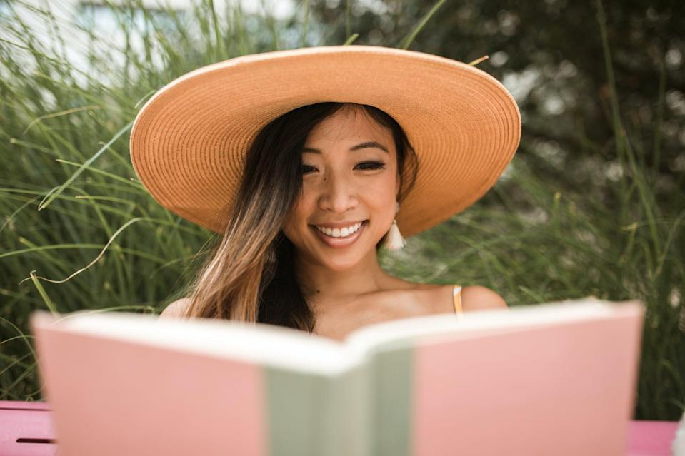"""<p>Reading is a healthy escape, and books are a great way to learn about different cultures and perspectives. <a href=""""https://www.popsugar.com/smart-living/How-Reading-Helps-Anxiety-43429388"""" class=""""link rapid-noclick-resp"""" rel=""""nofollow noopener"""" target=""""_blank"""" data-ylk=""""slk:Reading can also help ease anxiety"""">Reading can also help ease anxiety</a>, and reading before bed - or in bed, especially as an alternative to tossing and turning all night - can actually <a href=""""https://www.popsugar.com/fitness/does-reading-help-you-fall-asleep-47176469"""" class=""""link rapid-noclick-resp"""" rel=""""nofollow noopener"""" target=""""_blank"""" data-ylk=""""slk:help improve sleep"""">help improve sleep</a> over time. That said, reading a book every week isn't a realistic goal for everyone (it certainly isn't for me, and I majored in English), so my suggestion is to read one book a month. If you prefer audiobooks, get yourself a library card and download Hoopla and OverDrive.</p>"""