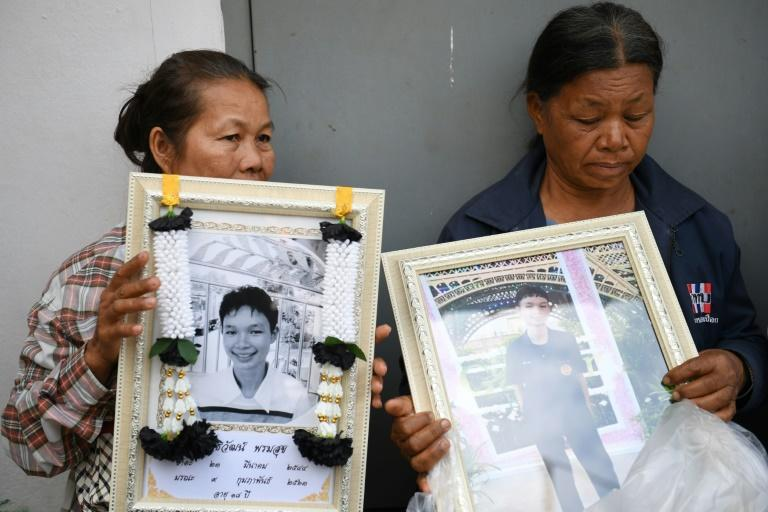 Holding portraits of their relatives and dabbing away tears, families of the victims of a mass shooting at the Terminal 21 shopping mall, arrived at a city morgue in Nakhon Ratchasima