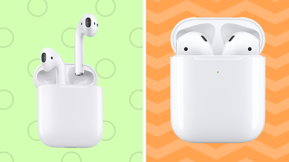 The faces of Apple AirPods—all on sale for Cyber Monday. (Photo: Apple)