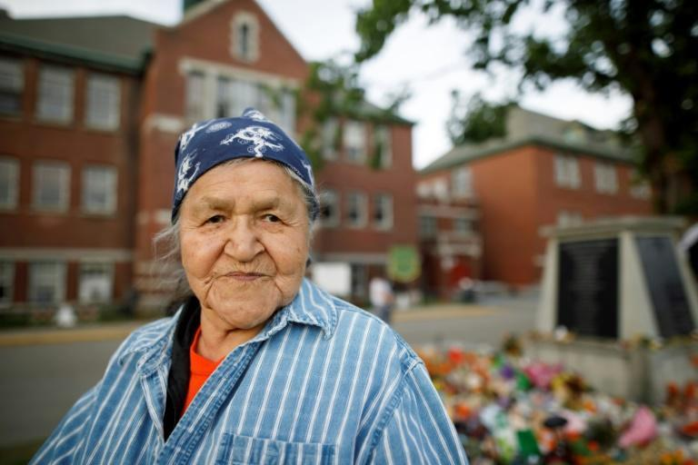 Kamloops Indian Residential School survivor Evelyn Camille says teaching young people their shared native language and culture now helps heal the wounds of abuse
