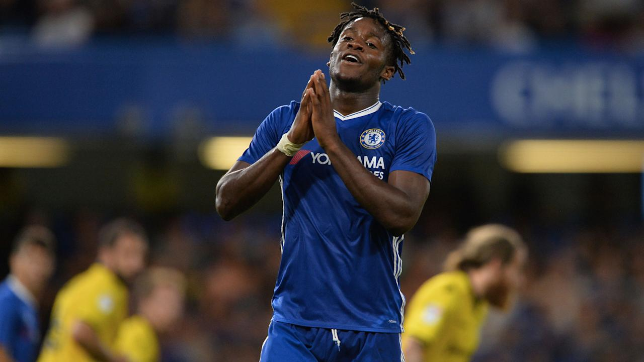 The Blues' Belgian forward has seen countryman Michy Batshuayi struggle to make his mark in England following a big-money move from Marseille