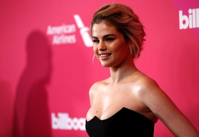 """Selena Gomez claims her """"lows would take her out for weeks"""". [Photo: Reuters]"""