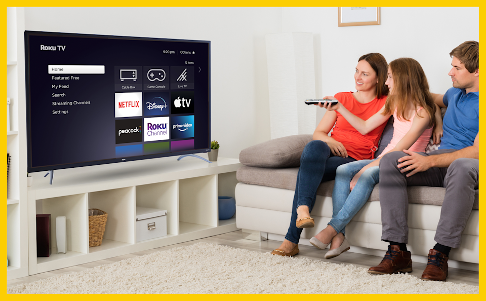Gather around! This 4K TV has a glorious 4K resolution and comes with three HDMI ports for a Blu-ray player, gaming consoles, soundbars and more. (Photo: Walmart)