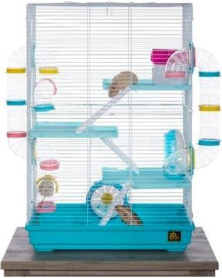 Camargo Hamster Cage with Ramp