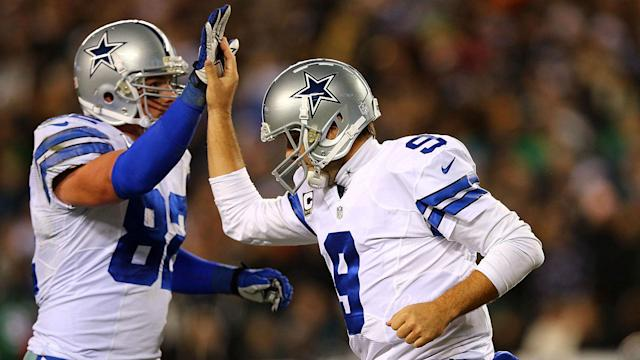 The duo joined the Cowboys in 2003 after Witten was selected in the third round of the draft and Romo signed as an undrafted free agent.