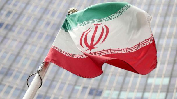 PHOTO: In this file photo the Iranian flag flutters in front the International Atomic Energy Agency headquarters in Vienna, Austria, July 10, 2019. (Lisi Niesner/Reuters, FILE)