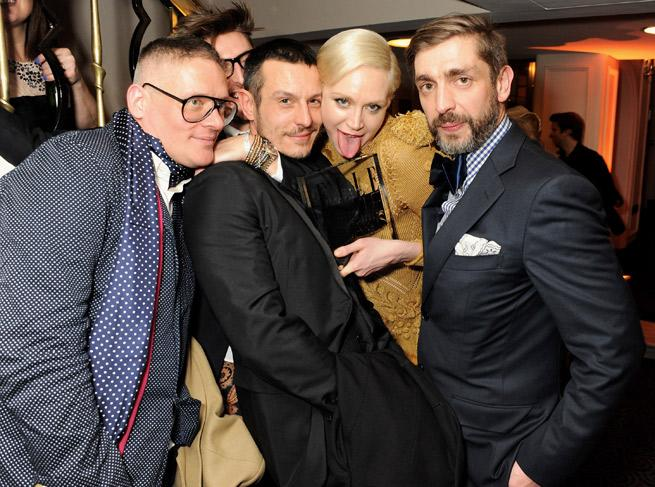 EXCLUSIVE: Giles Deacon Is Dating 'Game of Thrones' Actress Gwendoline Christie!