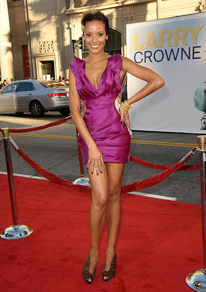 "Selita Ebanks at the Los Angeles premiere of <a href=""http://movies.yahoo.com/movie/1810196533/info"">Larry Crowne</a> on June 27, 2011."
