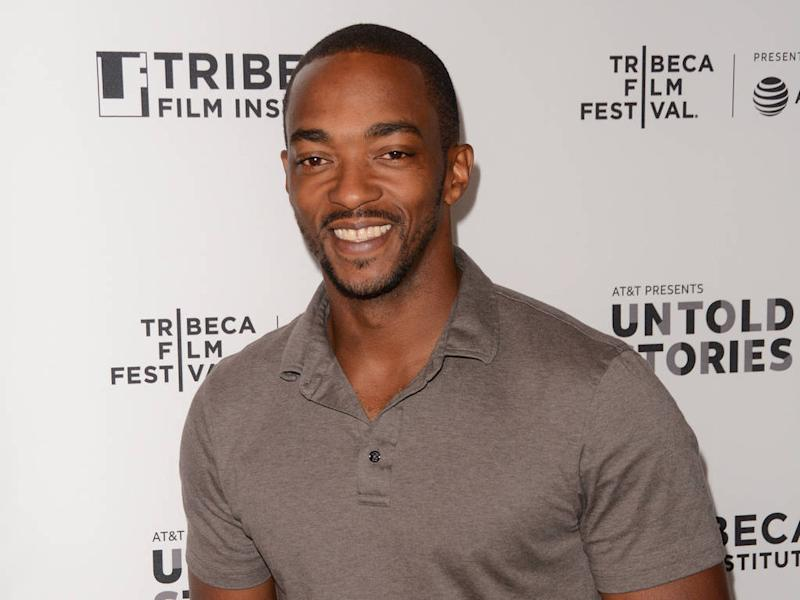 Anthony Mackie cried at son's 'cool' compliment