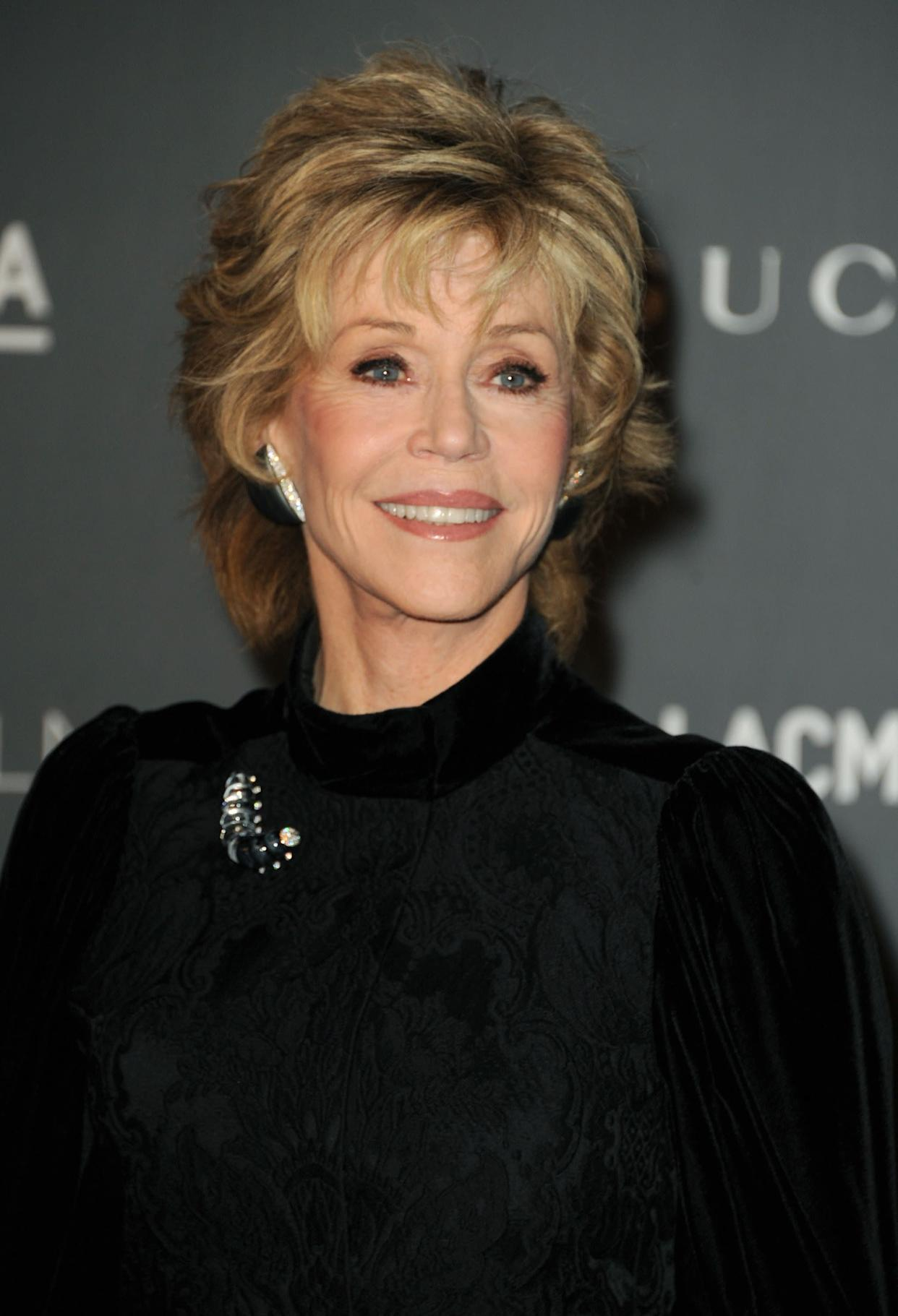 """""""At 74, I have never had such a fulfilling sex life,"""" <a href=""""http://www.huffingtonpost.com/2012/07/10/jane-fonda-sex-life_n_1661999.html"""" rel=""""nofollow noopener"""" target=""""_blank"""" data-ylk=""""slk:Fonda told Hello! magazine"""" class=""""link rapid-noclick-resp"""">Fonda told Hello! magazine</a>. """"The only thing I have never known is true intimacy with a man. I absolutely wanted to discover that before dying. It has happened with Richard, I feel totally secure with him. Often, when we make love, I see him as he was 30 years ago."""""""