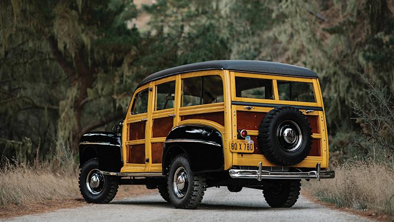 "The 1948 Ford Marmon-Herrington Super Deluxe ""Woodie"""