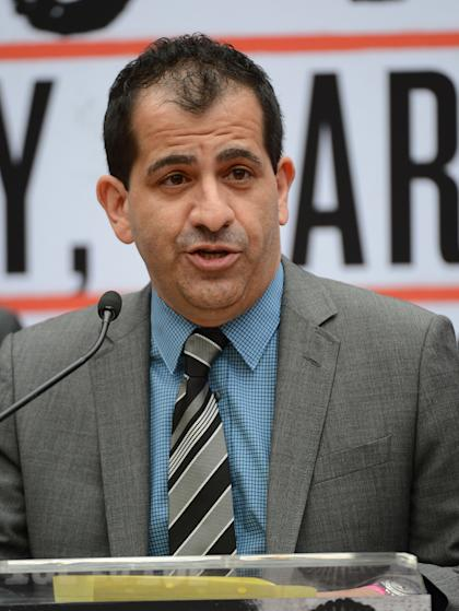 Stephen Espinoza, head of Showtime Sports. (Jayne Kamin-Oncea-USA TODAY Sports)