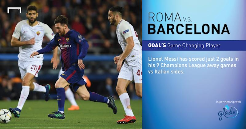 Roma stun Barca 3-0 to progress in UCL