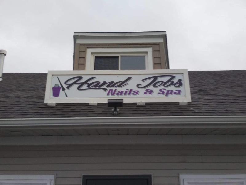 'Hand Jobs' salon is causing controversy for its suggestive name