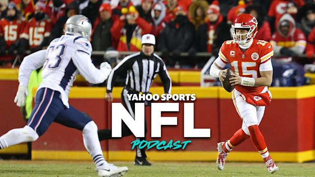 Terez Paylor and Charles Robinson preview every team in the AFC ahead of the 2019 NFL season. The Chiefs and Patriots are Las Vegas betting favorites to meet again in the AFC conference championship. (Photo by Scott Winters/Icon Sportswire via Getty Images)