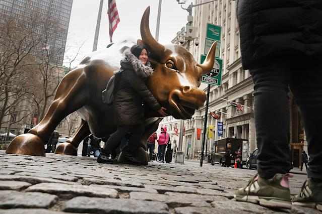 There's a solid economic foundation in place that will support higher stock prices for the next six months, according to BMO Capital Markets. (Photo/CNBC)