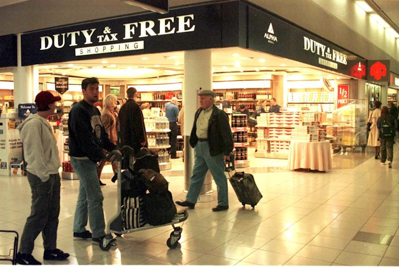 Duty Free store at Heathrow's Terminal 1. Photo: TIM OCKENDEN/PA Archive/PA Images