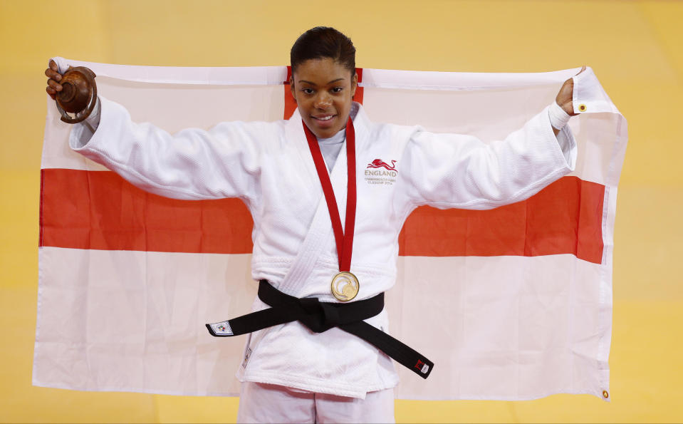 Davis scaled the dizzy Commonwealth heights by winning gold as a fresh-faced 21-year-old at Glasgow 2014