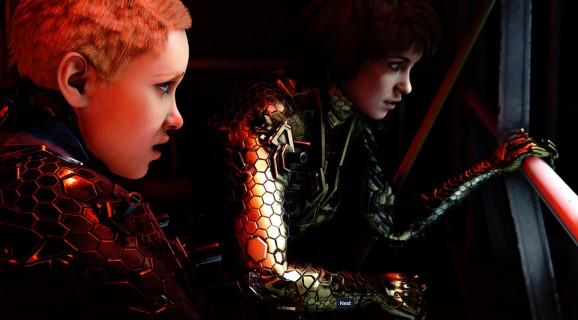 Sophia (left) and Jessica are the daughters of BJ Blazkowicz in Wolfenstein: Youngblood.