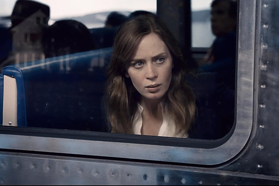<p>Not such a long commute in the make-up chair for Emily Blunt</p>Dreamworks