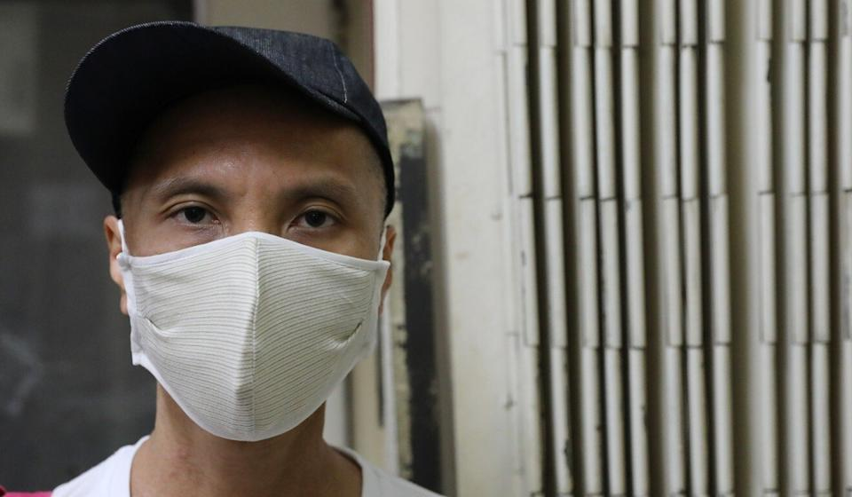 Adans Wong, who lost his job amid the pandemic, had to wait six weeks to get social benefits. Photo: Dickson Lee