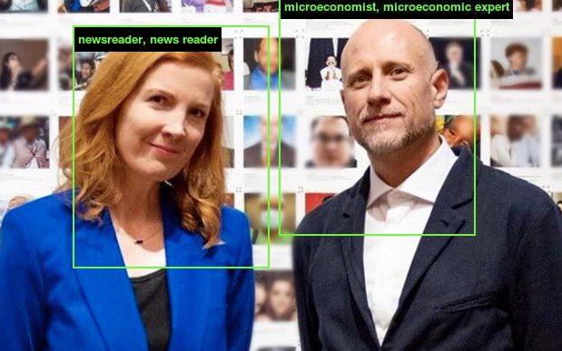 Trevor Paglen and Kate Crawford exposed racist and sexist labels used to train AI - Kate Crawford/Twitter