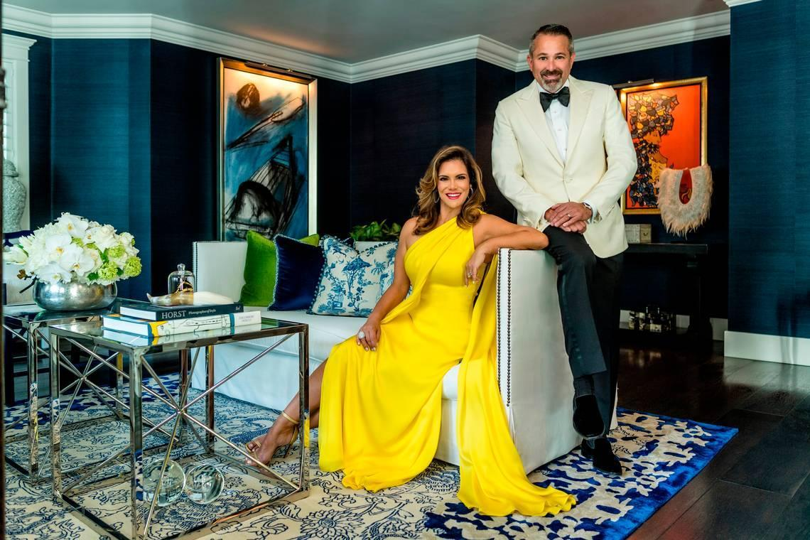 How this philanthropic couple merged their passion for art and fashion in an enchanting home