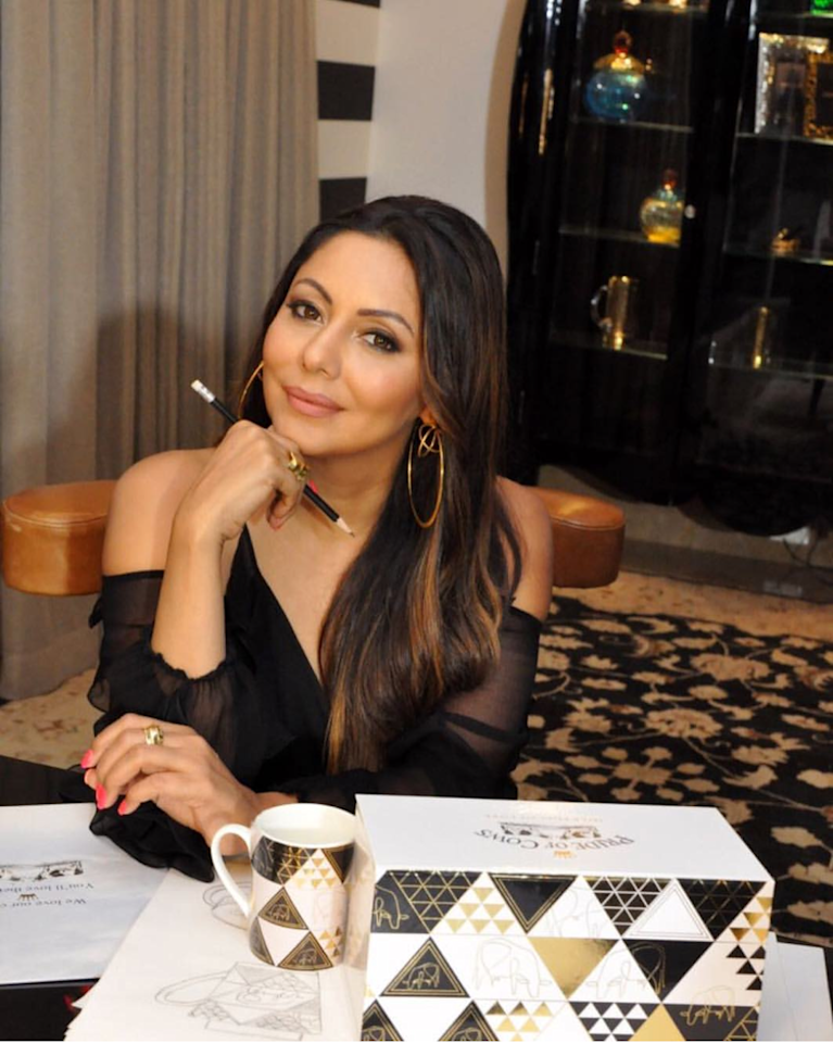 <p>She didn't keep herself limited to movies; she knew her gift was multi-faceted and was always on the lookout for new avenues that could use her talent in diverse ways. In 2010, she ventured into interior designing with close friend Sussanne Khan, and launched her own design studio, <em>Gauri Khan Designs, </em>in 2017. </p>